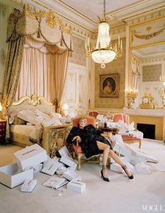Kate as Marie Antoinette