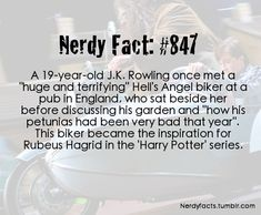 nerdy fact                                                                                                                                                     More