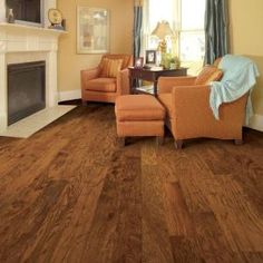 Home Legend Distressed Kinsley Hickory 3/4 in. Thick x 4-3/4 in. Wide x Random Length Solid Hardwood Flooring (18.70 sq.ft/case)-HL132S at The Home Depot