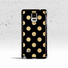 Gold Polka Dots Case Cover for Samsung Galaxy S3 S4 S5 S6 Edge Active – PM Cases