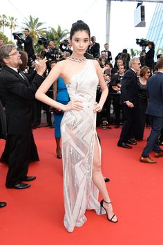 Ming Xi - All the Breathtaking Looks From the 2016 Cannes Film Festival - Photos