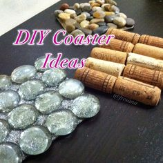 DIY Coaster Ideas, full tutorial in my channel :)