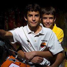 "Marc Marquez Fp (@marquez.93.marc.austria) on Instagram: ""Marquez brothers  #marcmarquez93 #marcmarquez #marquez #austriangp #teamhonda #93❤ #MM93…"""