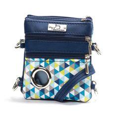 Unique handbag/weist bag tailored for dog owners, treat pocket, waste bag, zip pocket in ultimate stylish design