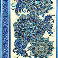 eQuilter Viola Garden Pattern