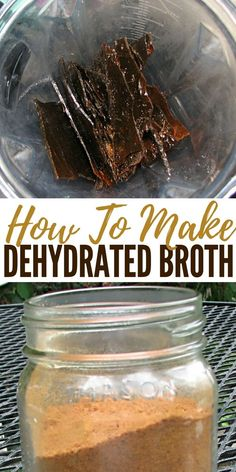 How To Make Dehydrated Broth - Broth is the foundation of the GAPS diet. One of the pillars of all healthy diets worldwide according to Dr Kate Shanahan and it is featured prominently in Nourishing Traditions. It seems to be part of the diets of all people with good health from all cultures. Perhaps that is why we continue to use and crave it's flavor in so many foods.