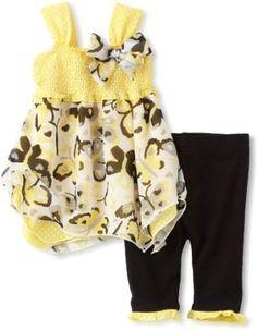 Little Lass Baby-girls Infant 2 Piece Butterfly Legging Set --- http://bizz.mx/krm