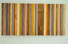 Recuperado arte de pared de madera decoración por ArtGlamourSligo