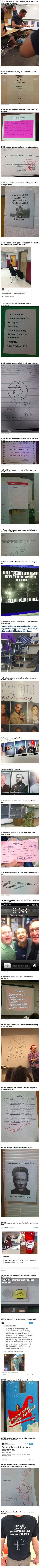 Omg why can't I have teachers like this!!