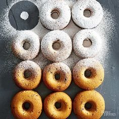 Bake these delicious doughnuts for a yummy breakfast or brunch treat. These tasty doughnuts are packed with delicious flavor and perfect for entertaining or making them for the week for breakfast.