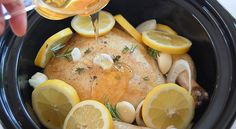 Honey Lemon Crock Pot Chicken