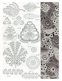 Uncinetto d'oro: Meraviglioso abito da sera! Freeform Crochet, Crochet Diagram, Crochet Chart, Crochet Motif, Crochet Stitches, Crochet Top, Crocheted Lace, Russian Crochet, Irish Crochet