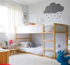 IKEA Kura bed is a great loft bed, it is recommended for 6 years and older. Slatted bed base is included;