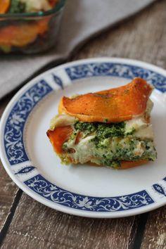 Butternut Squash Lasagna w/ Cashew Cheese & Kale Pesto (Vegan & Gluten-free)