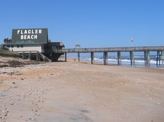 <3 Flagler Beach...right down the road from St. Augustine..how old Florida used to be..