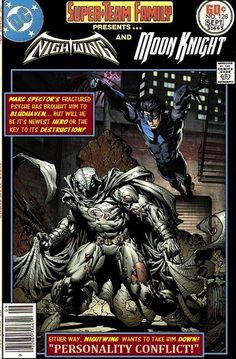 Super-Team Family: The Lost Issues!: Nightwing and Moon Knight