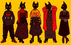 """coeurcore: """"i want to start making more original content so here's my oc kitty wearing a collection of my outfits from the past 2 weeks! Branding, Cute Characters, Character Design Inspiration, Lettering, Drawing Reference, Graphic, Cute Art, Art Inspo, Amazing Art"""