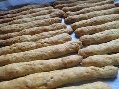 Ζουζουνομαγειρέματα: Κριτσίνια νηστίσιμα με καρότο της Ελένης! Bread, Blog, Brot, Blogging, Baking, Breads, Buns