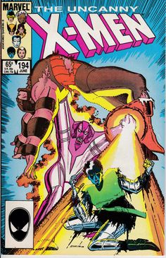 Uncanny X-Men 194 June 1985 Issue  Marvel Comics  by ViewObscura