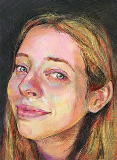 Portrait Drawing: Friday Face 2Faith Humphrey Hill http://www.dartily.com/blog/2018/4/21/portrait-drawing-friday-face-2