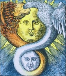 Alchemical - Sun/Moon Ouroboros.