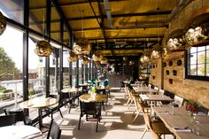 Located canal-side in London is the ever-delicious restaurant called Docked. The menu changes daily here. This is a must for all foodies!