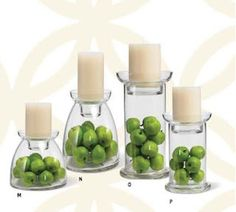 shelley b decor and more: Glass Vase Collection for Wedding Centerpiece - various prices
