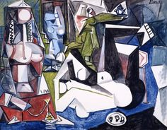 An artwork of Picasso