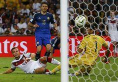 Alemania gana 1-0 a Argentina el partido final del mundial de fútbol Brasil 2014