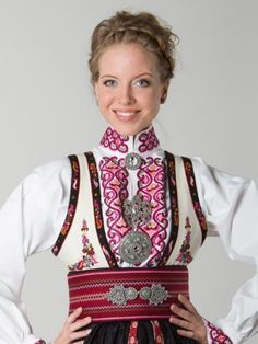 Folk Costume, Costumes, Norwegian Clothing, Norway, Russia, My Style, Inspiration, Clothes, Beauty