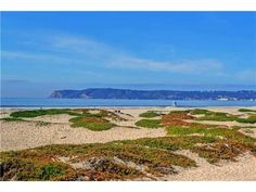 The soft ocean breezes can be credited to Point Loma, in the distance, that takes the brunt of the Pacific's moving air.
