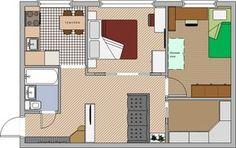 Перепланировка-двухкомнатной-хрущевки-спальня-детская.jpg (722×454)