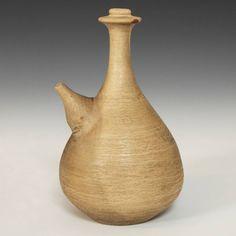 Kendi or Ritual Water Vessel JAVA, INDONESIA EARLY 20TH C. TERRA COTTA 4.5'' W x 7'' H