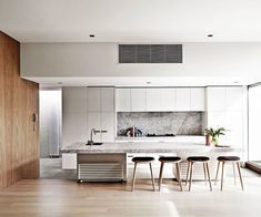 World Best Interior Designer Featuring PintoTuncer For More Inspiration See Also Brabbu En 11 Modern Minimalist Kitchens To Fall In Love