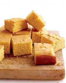This cornbread strikes the right balance between tender and crumbly, to use it in a Thanksgiving stuffing, reduce the sugar to 2 tablespoons.