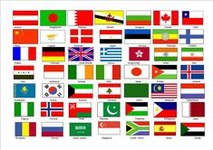 Flags of the World with Names | World Flags With Names 12096 Hd Wallpapers in Travel n World ...