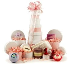 Bath time Gift Tower for Someone Special