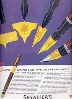 July 24, 1944 Sheaffer's Pen      ad  (#2664)