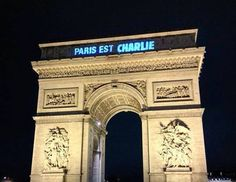 Paris is Charlie - Tribute to Charlie Hebdo, and their cartoonists and Illustrators, Cabu, Charb, Wolinski et Tignous.