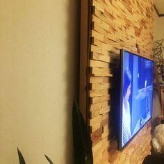 ディアウォールで壁をつくる/壁掛けテレビ/配線隠し/DIY/ディアウォール/壁/天井…などのインテリア実例 - 2015-11-29 00:52:17 | RoomClip(ルームクリップ)