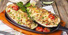 Incrível! Berinjela recheada com frango - # #berinjela #comidasrapidasefaceis #frango #Receitas