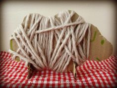 Farm theme activities - weave wooly sheep