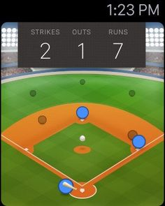 Pastime Baseball for Apple Watch Apple Watch App Apple Watch Apps, Run 2, Baseball Games, Arcade, Ios