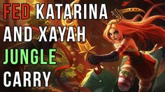 Carrying a Xayah Jungle as Katarina Mid [Highlights] https://www.youtube.com/watch?v=Wo_byBj2cc4 #games #LeagueOfLegends #esports #lol #riot #Worlds #gaming