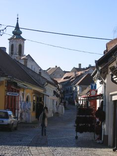 Szentendre, Hungary along the Danube Bicycle route. Budapest, Black Sea, Bike Trails, Hungary, Austria, Landscapes, Scenery, Germany, Wanderlust