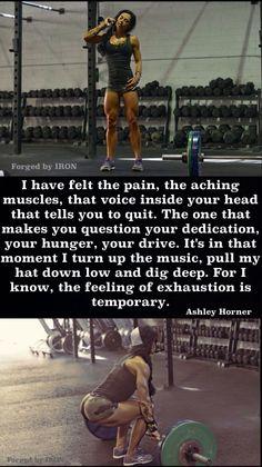 Ashley Horner says it right