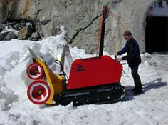 Tracked walk behind snow blowers - electric snow blowers