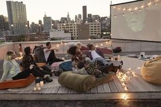 US@UO: Rooftop Movie Screening - Urban Outfitters - Blog #RooftopGarden