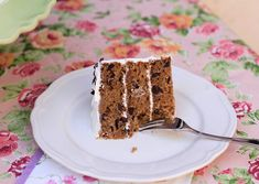 Zucchini & Chocolate Chip Layer Cake by Bea Roque, via Flickr