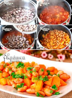 Zeytinyağlı Barbunya Pilaki Tarifi, Nasıl Yapılır – Sulu yemek – Las recetas más prácticas y fáciles Fresh Seafood, Homemade Beauty Products, French Food, Food Blogs, Diet And Nutrition, Kitchen Hacks, Chana Masala, Seafood Recipes, Brunch